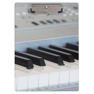 Synthesizer keyboard clipboard