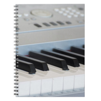 Synthesizer keyboard notebooks