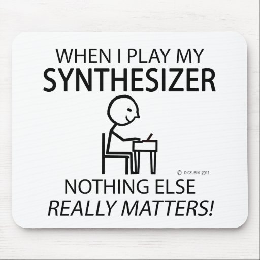 Synthesizer Nothing Else Matters Mousepad