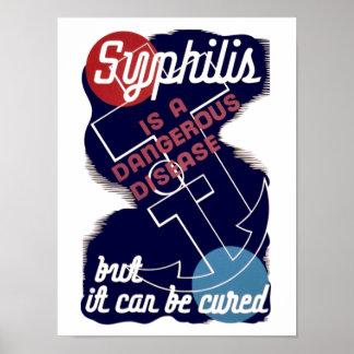 Syphilis is a Dangerous Disease Poster