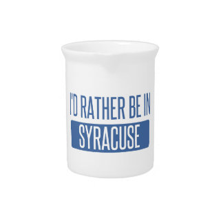 Syracuse Beverage Pitchers