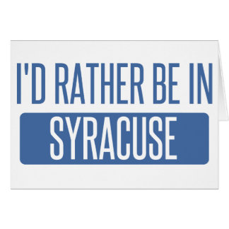 Syracuse Card