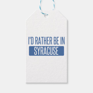 Syracuse Gift Tags