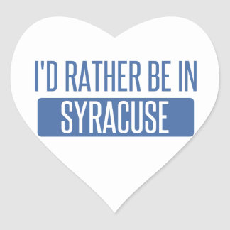 Syracuse Heart Sticker