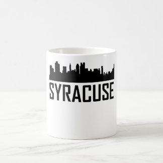Syracuse New York City Skyline Coffee Mug