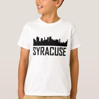Syracuse New York City Skyline T-Shirt