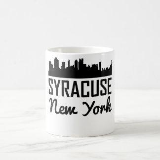 Syracuse New York Skyline Coffee Mug