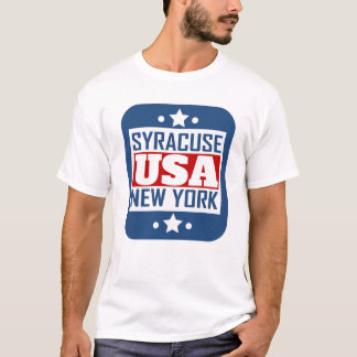 Syracuse New York USA T-Shirt