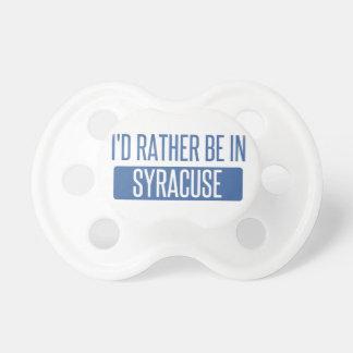 Syracuse Pacifier