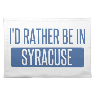 Syracuse Placemat
