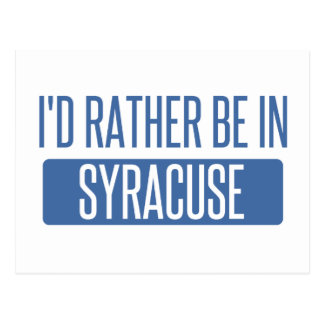 Syracuse Postcard
