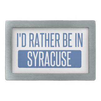Syracuse Rectangular Belt Buckles
