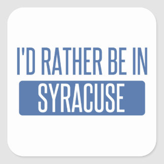 Syracuse Square Sticker