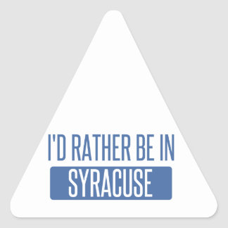 Syracuse Triangle Sticker