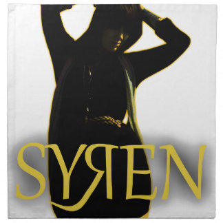 Syren items napkin