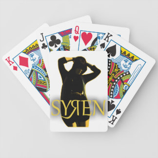 Syren Main Products Bicycle Playing Cards