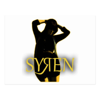 Syren Main Products Postcard