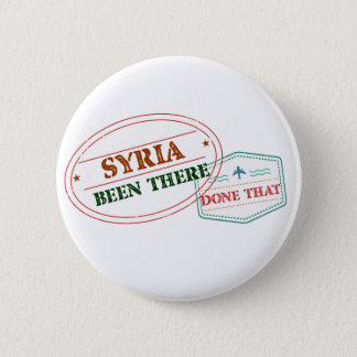 Syria Been There Done That 2 Inch Round Button