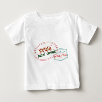 Syria Been There Done That Baby T-Shirt