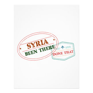 Syria Been There Done That Letterhead