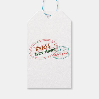 Syria Been There Done That Pack Of Gift Tags