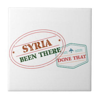 Syria Been There Done That Tile
