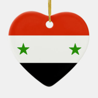 Syria Ceramic Heart Ornament
