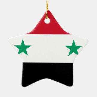 Syria Ceramic Star Ornament