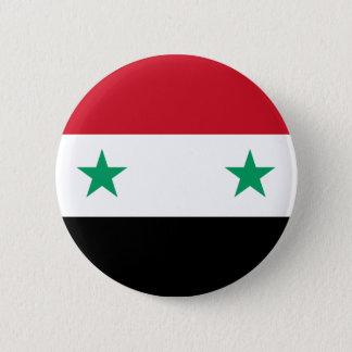 Syria Flag 2 Inch Round Button