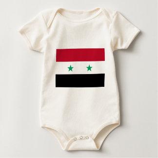 Syria flag baby bodysuit