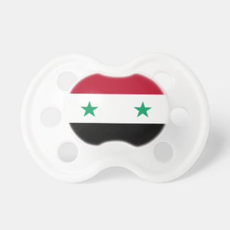 Syria flag baby pacifier