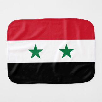 Syria Flag Burp Cloth