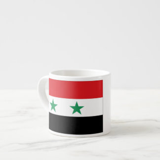 Syria Flag Espresso Cup
