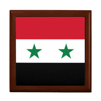 Syria Flag Jewelry Boxes