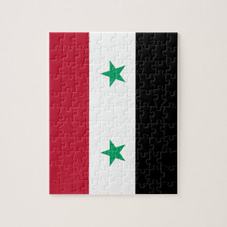 Syria flag jigsaw puzzle