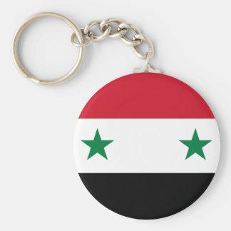 Syria Flag Keychain