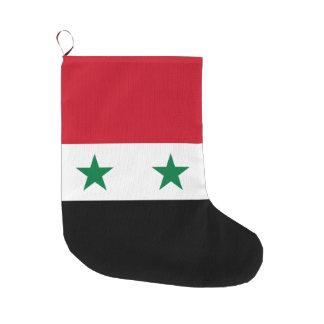 Syria Flag Large Christmas Stocking