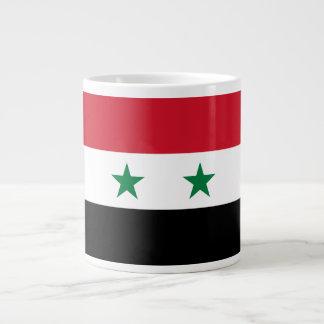 Syria Flag Large Coffee Mug