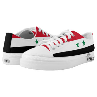 Syria Flag Low-Top Sneakers