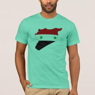 Syria flag map T-Shirt