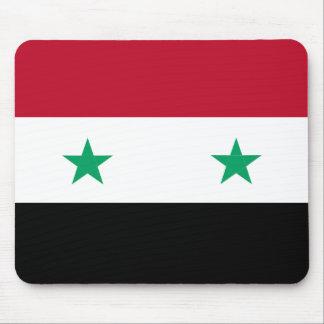 Syria flag mouse pad