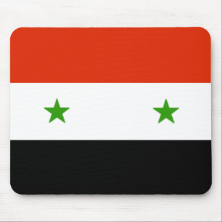 Syria Flag Mousepad