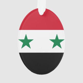 Syria Flag Ornament