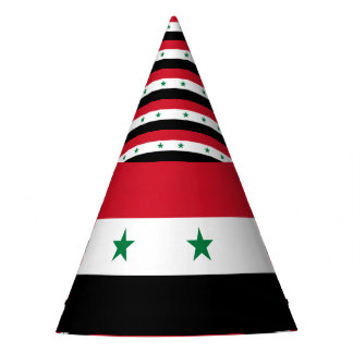 Syria Flag Party Hat