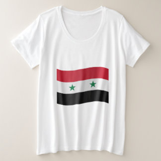 Syria Flag Plus Size T-Shirt