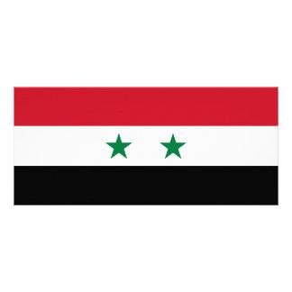 Syria Flag Rack Card