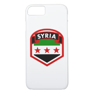 Syria Flag Shield iPhone 8/7 Case