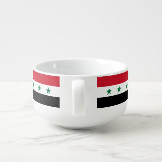 Syria Flag Soup Mug
