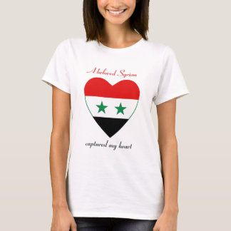 Syria Flag Sweetheart T-Shirt