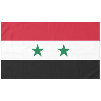 Syria Flag Tablecloth